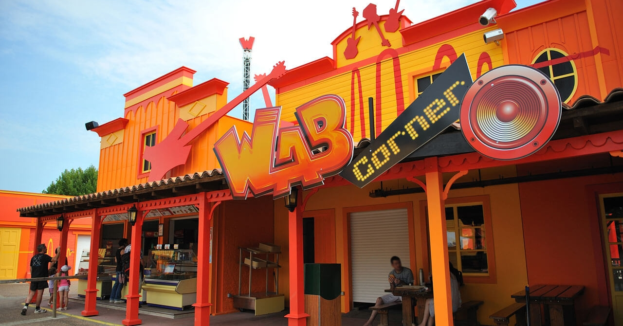 photo du restaurant WAB corner au parc Walibi Rhône-Alpes