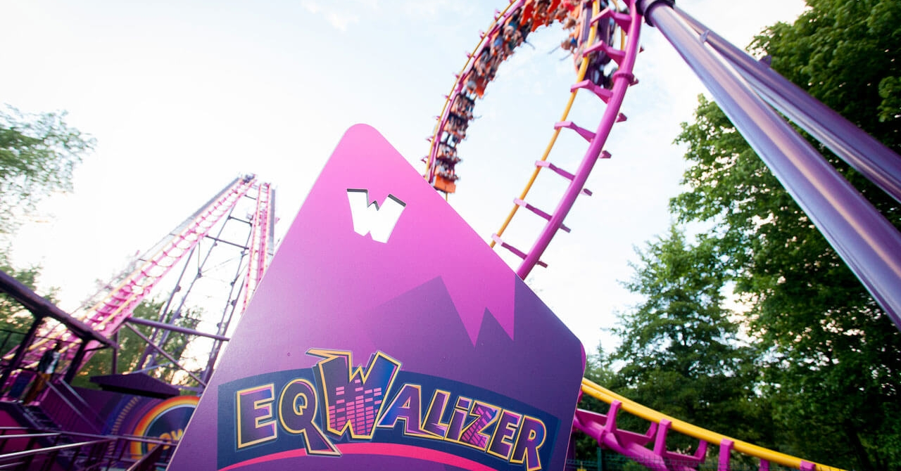 photo de l'attraction EqWalizer au parc Walibi Rhône-Alpes