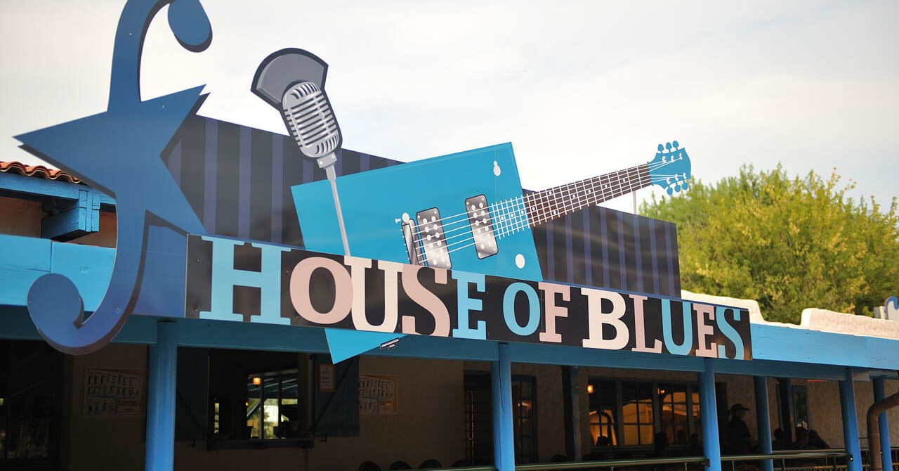 photo du restaurant house of blues au parc Walibi Rhône-Alpes