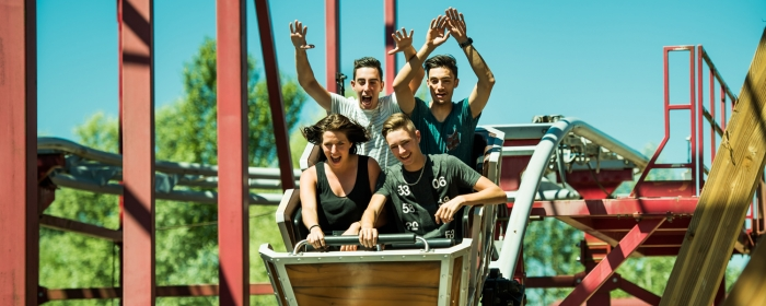 attraction woodstock express walibi rhone alpes