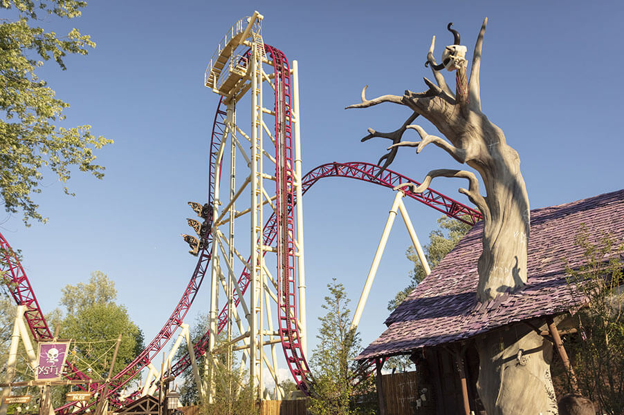 photo de l'attraction Mystic à Walibi Rhône-Alpes